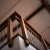 custom stair rail_custom woodworking