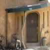 Custom entry door_stucco_Boulder_design-build