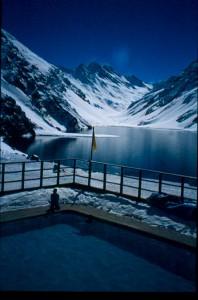 The classic resort of Portillo Chile