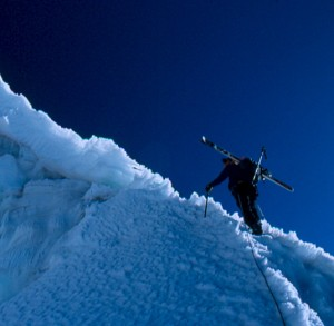 Climbing Nevado Ishinca in the Cordillera Blanco of Peru