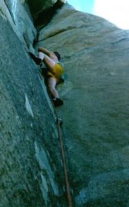 Dave on King Pin Old school 5.10