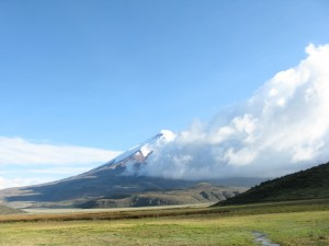 Volcan Cotopaxi in Ecuador.