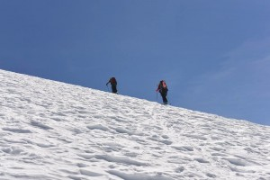 Coropuna ski climbing